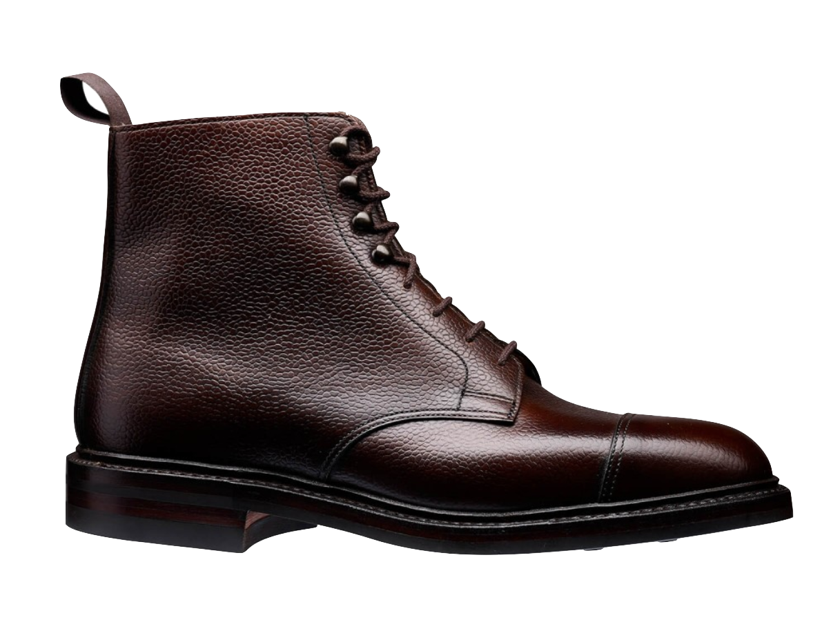 bespoke boot brown